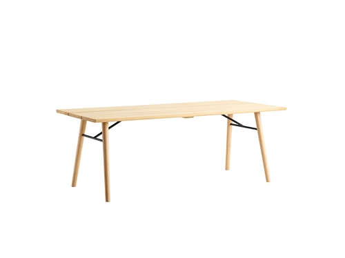 Woud design, Split dining table, sæbe/sæbe