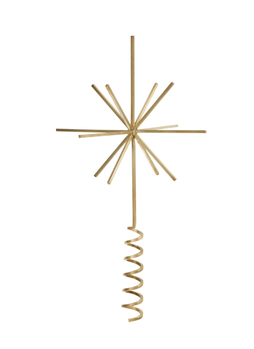 Fermliving, Brass Christmas tree top star