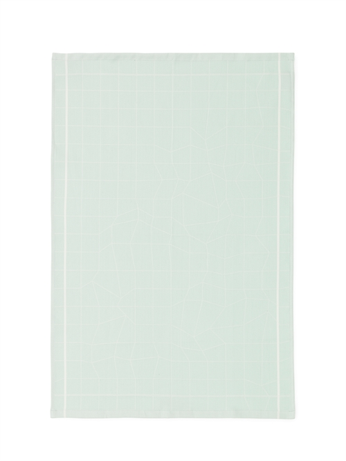 Normann Copenhagen, Illusion Tea towel, Mint