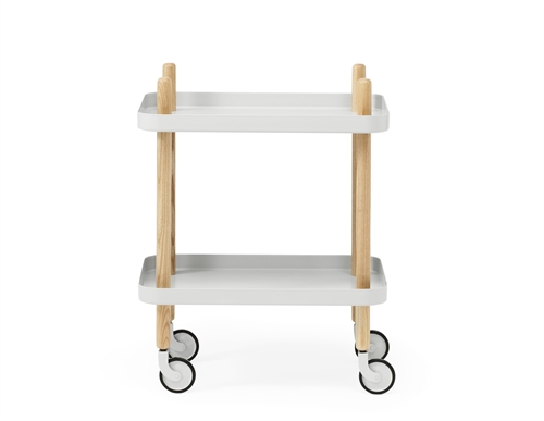 Normann Copenhagen, Block table, Hvid