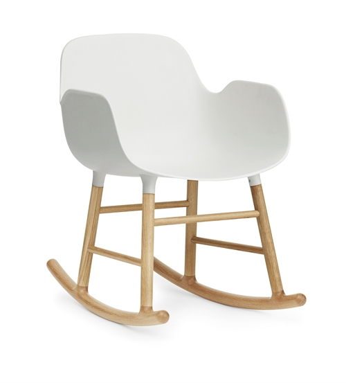 Normann Copenhagen, Form Rocking Armchair - oak