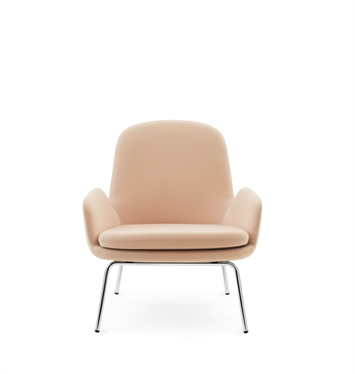 normann copenhagen era lounge chair med krom ben