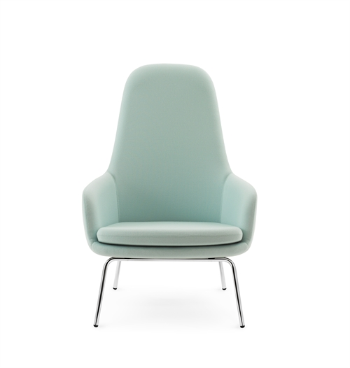 Normann Copenhagen, Era Lounge chair high, Chrom