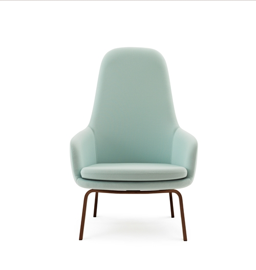 Normann Copenhagen, Era Lounge chair high, Walnut